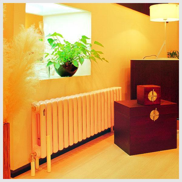 金旗舰铜铝复合散热器生产厂家的喷涂工艺